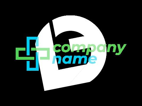 Interlinked medical cross logo